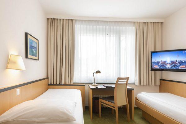 Economy Zimmer - Einzelzimmer oder Zweibettzimmer