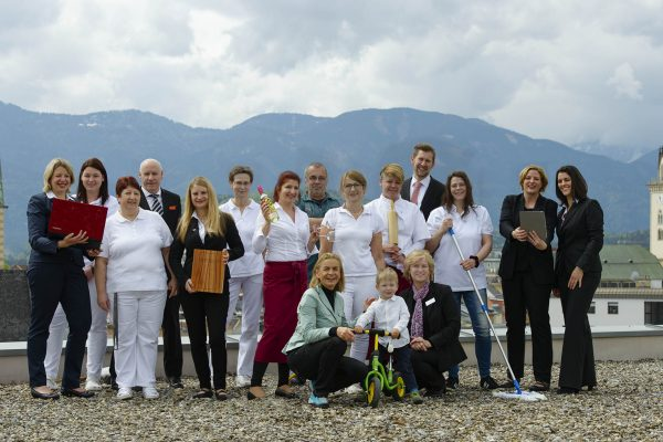 Das Hotel City Villach Team
