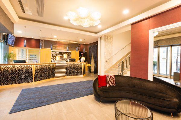Empfang Hotel City