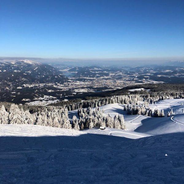 Traumhaftes Winterparadies am Dobratsch